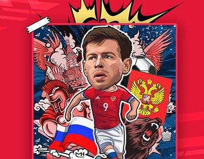 SMOLOV Illustration - РОССИЙСКИЙ ФУТБОЛЬНЫЙ СОЮЗ