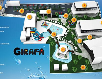 Mapa do Complexo Girafa