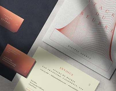 Visual Identity for Stacks du Beurre