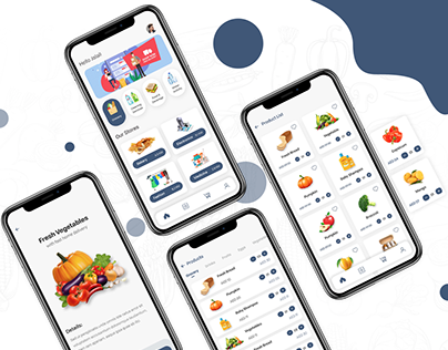 Smart Grocery Delivery App