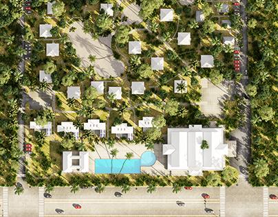 The Master Plan Of Lanjut Beach EcoVillage