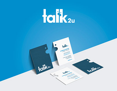 Talk2u - Business cards design