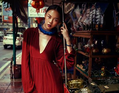 Heading Southeast - Fashion Editorial