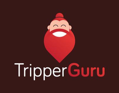 TripperGuru Logo Development
