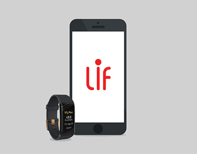 LIF Living in Fitness - Logo