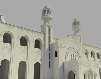 3d Architectural Visualization Project