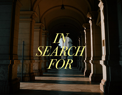 IN SEARCH FOR