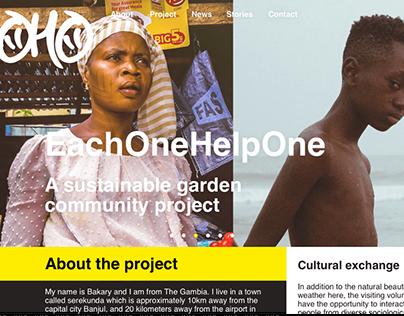 EachOneHelpOne, 2018, Serekunda (The Gambia)