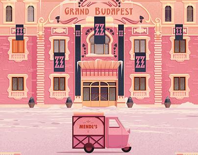 James Gilleard - Grand Budapest Hotel