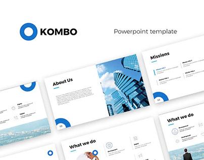 Kombo Powerpoint Presentation Template