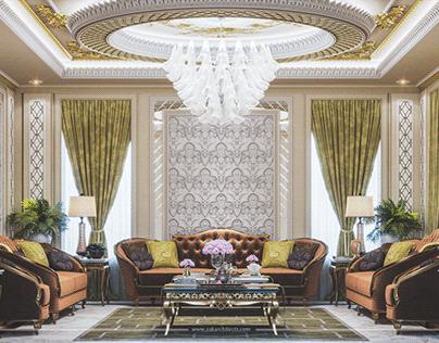 ZAK Architects® Artwork #Classic | Men Majlis | Oman