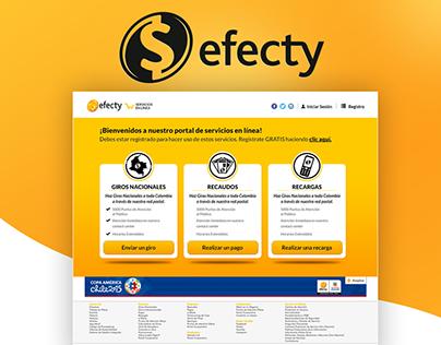 Efecty - Portal Transaccional