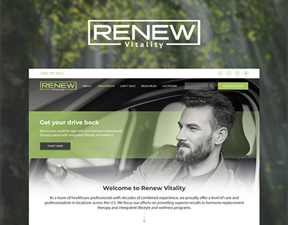 Renew Vitality | Website