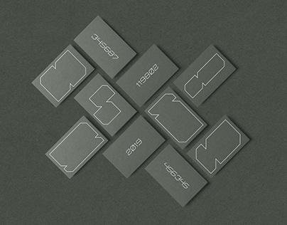 uniservice - visual identity system