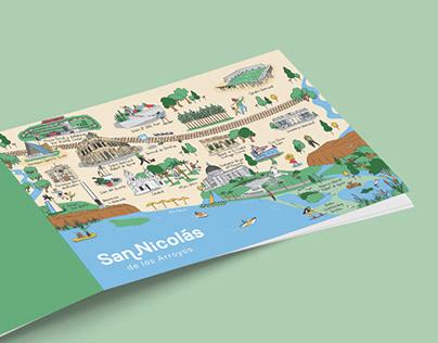 Mapa - San Nicolás de los Arroyos