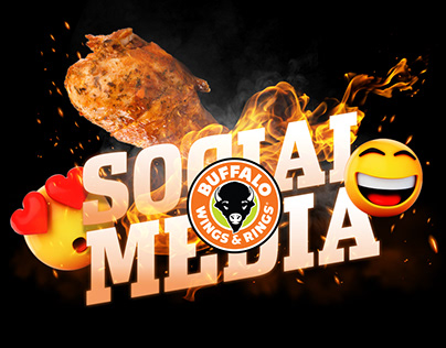 Buffalo Wings & Rings Social Media