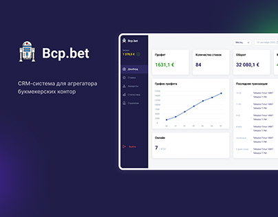 CRM System for Bookmaker