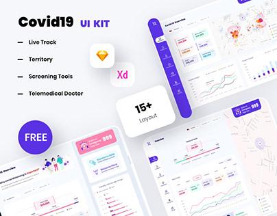 Covid19 UI Kit Free Download