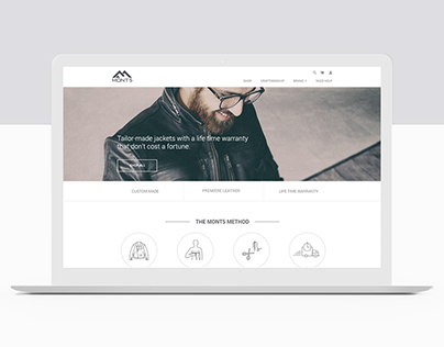 MONT5 Branding & Website