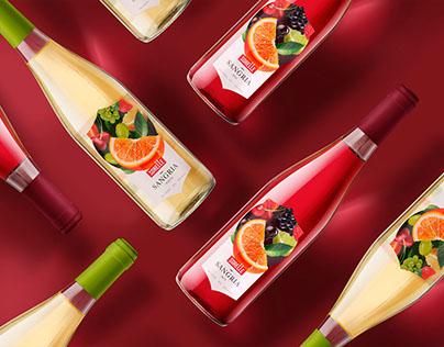 Label design for series of SORELLE wine
