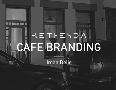 Behance - cafe branding