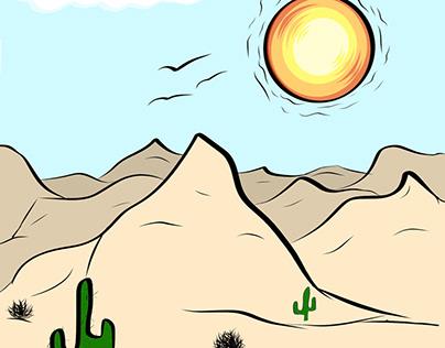 The Hot Desert