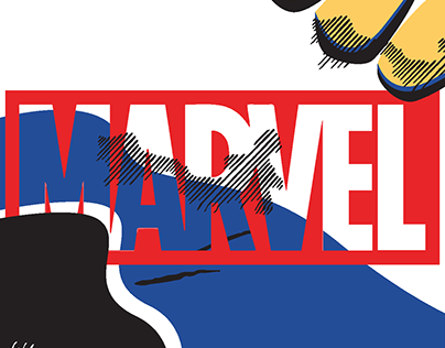Marvel Brand Abstraction Booklet