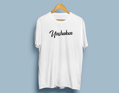 'Unshaken Youth' T-Shirt Design