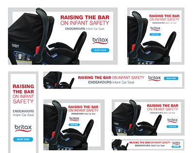 Endeavours Infant Car Seat Product Launch Digital Ads