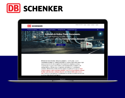 DB Schenker Trade Solutions Website