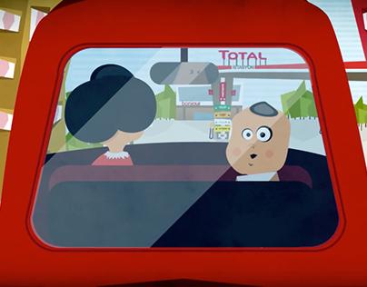 TOTAL | Mobil Uygulama - Animasyon Filmi
