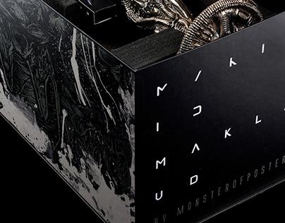 ALIEN Hookah packaging design for Maklaud