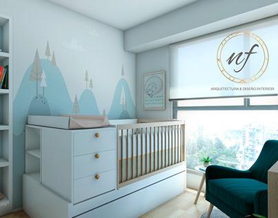 NF Arq & Diseño Interior Proy. Dormitorio Bebé Lince