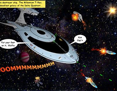 Denn Starr, Intergalactic Bounty Hunter
