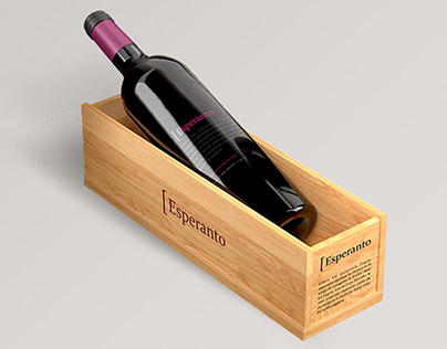 Esperanto Wine Logo and Labels - Branding and Packaging