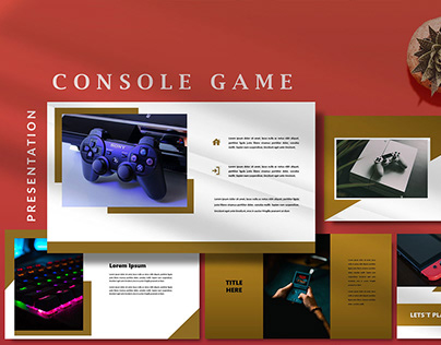 Console Game - Modern Powerpoint