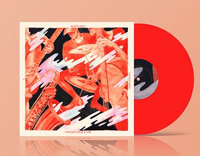 Jazz Album illustration and design