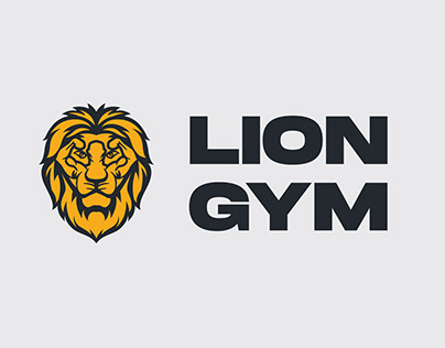 Branding - Lion Gym