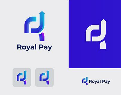 R Letter Logo - Royal Pay Logo