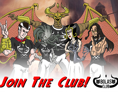 Bolas Club Illustration