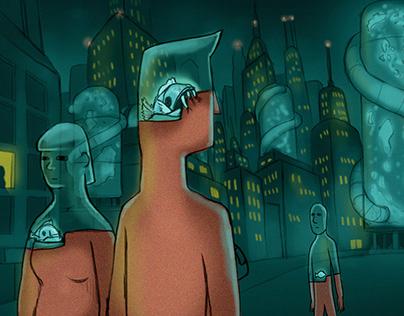 The Meslow City [concept art]