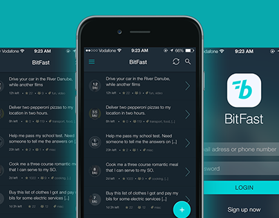 Bitfast - Tasks for Bitcoin App