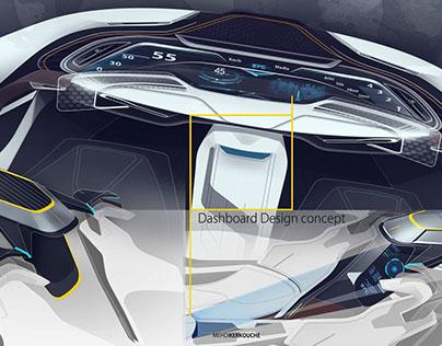 AUTONOMOUS DRIVING-Interior design