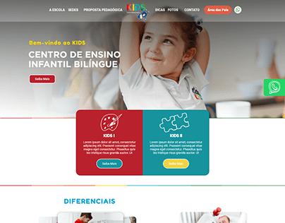 Layout - Website - KidsOnline