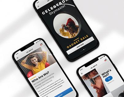 Drop Shipping Webshop | Concept UI/UX