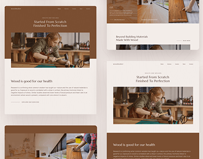 Carpenter Wood Maker Web UI