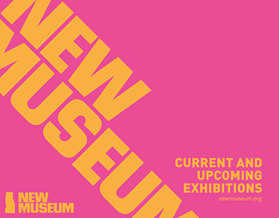 New Museum 2015 Exhibition Calender