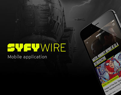 SYFYWIRE - UI design Mobile application