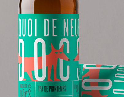 Seasonnal labels for DOCS brewery