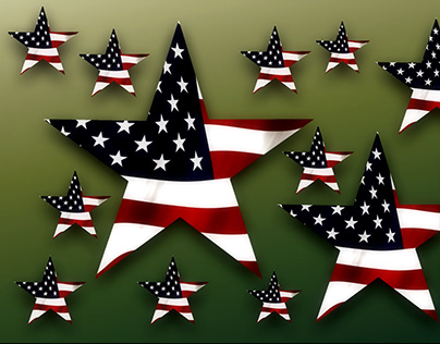 Star Usa Flag/ American Flag -Stars And Stripes